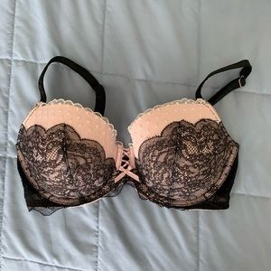 ❣️Black and pink sexy bra